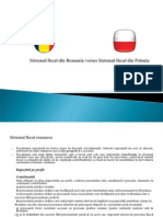 Sistemul Fiscal Ro vs PL