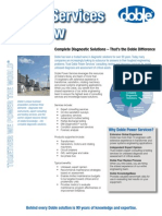 Power Services Overview Brochure