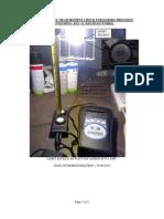 Light Intensity Measurement Check