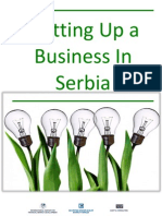 Setting Up a Business in Serbia