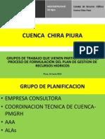 Grupos de Trabajo Cuenca Chira Piura 14.06.12