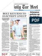 The Daily Tar Heel for May 23, 2013