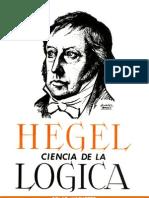 Hegel Ciencia de La Logica
