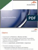 Mestre ArcelorMittal 2013