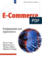 Electronic Commerce Fundamentals Applications.