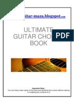 Ultimate Guitar Chords Book