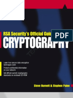 Rsa Securitys Official Guide to Cryptography.