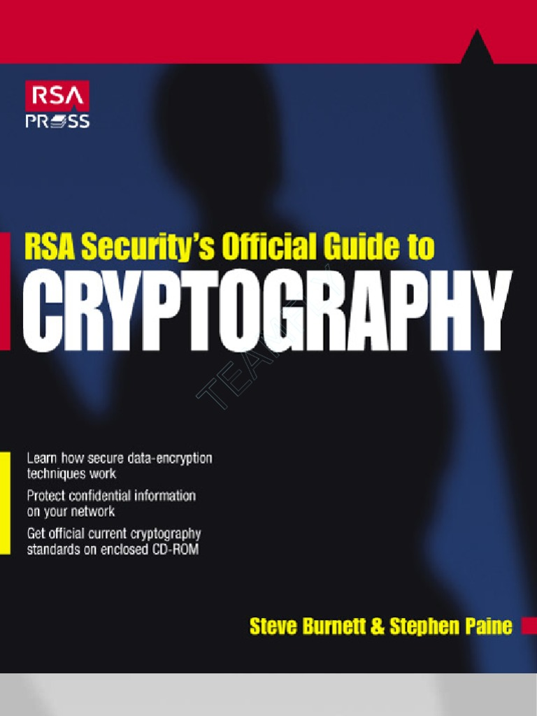 Rsa Securitys Official Guide to Cryptography