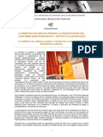 Presentación del III Informe ManpowerGroup- Instituto Internacional Cuatrecasas en Madrid
