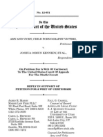 Reply in Support of Petition for a Writ of Certiorari