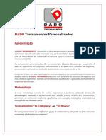 PORTFÓLIO 2013 - DADO TREINAMENTOS