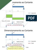 Dimensionamento de Armadura Transversal