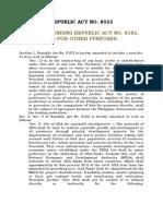 RA 8555- Amending RA 8182