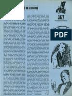 Breve Historia Del Jazz. Caballero Junio 1966.