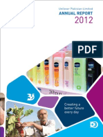 Unilever Pakistan  Annual Report 2012