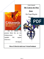 01 Carlos Castaneda - Die Lehren Des Don Juan