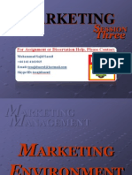 Marketing Environment II