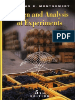 DESIGN AND ANALYSIS OF EXPERIMENTS - 5TH EDITION - DOUGLAS...