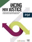 Advancing HIV Justice, June 2013
