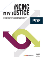 Advancing HIV Justice, June 2013