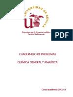 Cuadernillo de Quimica Analitica Farmacia