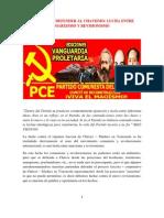 Combatir o Defender Al Chavismo, Lucha Entre Marxismo y Revisionismo