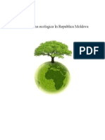 Problema Ecologica in Republica Moldova