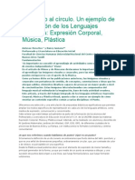 Taller de Integracion de Lenguajes Artisticos