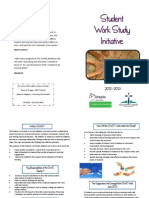 student work study brochure 2012