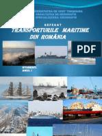 TRANSPORTURILE MARITIME IN ROMANIA.ppt