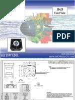JMC 38x28mm Fixed Vane Fan