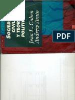 Cohen y Arato Sociedad civil y teoría política.pdf
