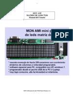 Mon Ami Matriz de Leds 7x30 Manual Del Usuario