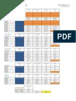 Summer 13 ORec Schedule (as of 5.24)