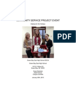 green bay east deca community service project manual