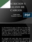 Descricion y Analisis de Cargos