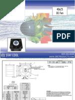 JMC 40x25mm DC Fan