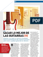 Sacar Lo Mejor de Las Guitarras - Capitulo 5
