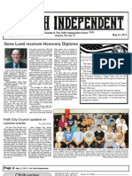 Faith Independent, May 22, 2013