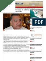 22-05-2013 Pepe ofrece una propuesta de gobierno real e incluyente