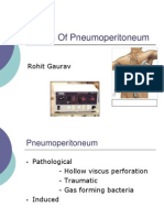 Effects of Pneumoperitoneum