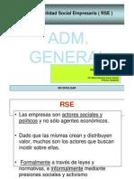 Administración General-Responsabilidad Social Empresaria (RSE )-Moris Eduardo Cuneo Gateño