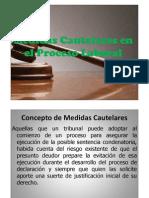 Medidas Cautelares en El Proceso Laboral