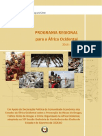 Afica Ocidental West Africa MAP