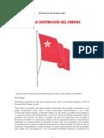 SOBRE LA CONSTRUCCIÓN DEL PARTIDO