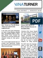 Senator Nina Turner | May 2013 E-newsletter