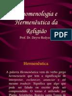 Fenomenologia e hermeneutica da religião 3
