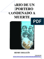 Diario de Un Reportero Condenado a Muerte