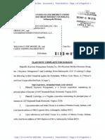 Keystone Management Systems Inc & Lockridge v. Moore, et al. - Complaint