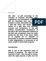 Explanation of Gift